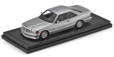 TOPMARQUES 1/43scale Mercedes 560 SEC Lorinser 1987 Silver  [No.TOP43008A]