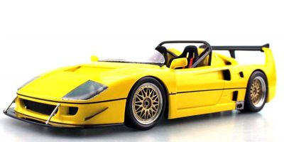 TOPMARQUES 1/43scale F40 LM Beurlys Barchetta Yellow  [No.TOP43010A]