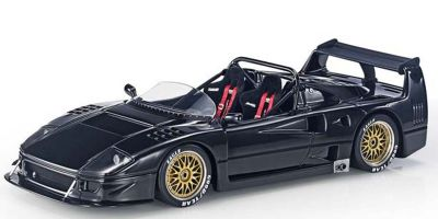 TOPMARQUES 1/43scale F40 LM Beurlys Barchetta Black  [No.TOP43010C]