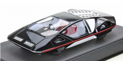 TOPMARQUES 1/43scale Pininfarina Modulo Black  [No.TOP43018B]