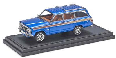 TOPMARQUES 1/43scale Jeep Grand Wagoneer Blue  [No.TOP43019A]