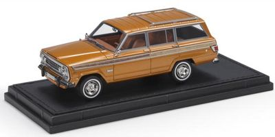 TOPMARQUES 1/43scale Jeep Grand Wagoneer Bronze (Brown)  [No.TOP43019B]