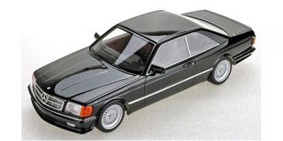 TOPMARQUES 1/18scale Mercedes 560 SEC Lorinser 1987 (Black)  [No.TOPLS047A]