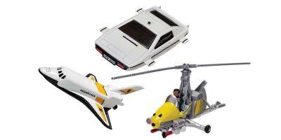 CORGI Nonscale 007 Collection 3 set (Space Shuttle / L Nelly / L Esprit)  [No.CGTY99283]