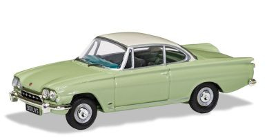 CORGI 1/43scale Ford Consal Capri 335 (109E) Lime Green & Armin White  [No.CGVA03407]