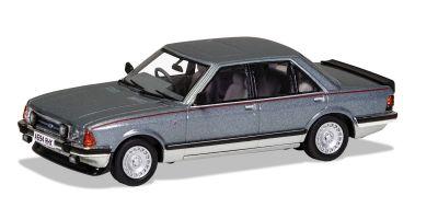 CORGI 1/43scale Ford Granada Mk2 2.8i Gear Nimbus Gray & Strat Silver  [No.CGVA12414]