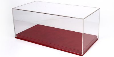 BBR 1/18scale Display Case + Leather-based (Red)  [No.VET1804A1]