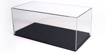 BBR 1/18scale Display Case + Leather-based (Black)  [No.VET1804B1]
