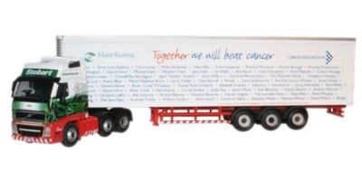 OXFORD 1/76scale Charity Truck Stobart Malcolm  [No.OXVOL02FR]