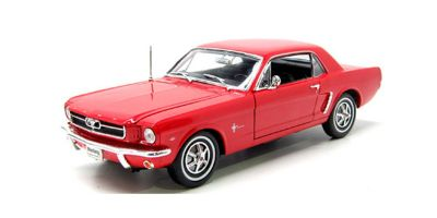 WELLY 1/18scale Ford Mustang Coupe 64 1/2 Red  [No.WE12519HR]