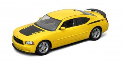 WELLY 1/18scale Dodge Charger 2006 Daytona R / T Yellow [No.WE18003RY]