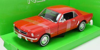 WELLY 1/24scale Ford Mustang Coupe 64 1/2 Red [No.WE22451R]