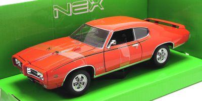 WELLY 1/24scale 1969 PONTIAC GTO Orange [No.WE22501OR]