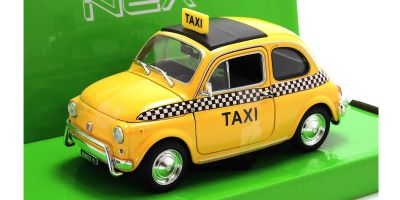 WELLY 1/24scale Fiat Nuova 500 taxi  Yellow   [No.WE22515TX]