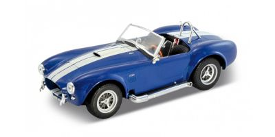 WELLY 1/24scale Shelby Cobra 427 1965  Blue   [No.WE24002BL]