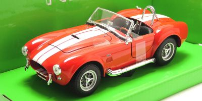 WELLY 1/24scale Shelby Cobra 427 1965 Red [No.WE24002R]