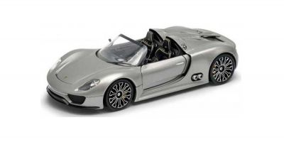 WELLY 1/24scale PORSCHE 918 SPYDER (Silver)  [No.WE24031S]