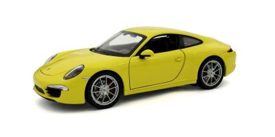 WELLY 1/24scale Porsche 911  991  Carrera S Yellow  [No.WE24040Y]