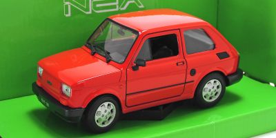 WELLY 1/24scale Fiat 126 Red  [No.WE24066R]