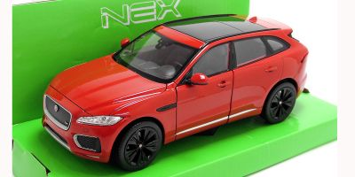 WELLY 1/24scale Jaguar F-PACE Red  [No.WE24070R]