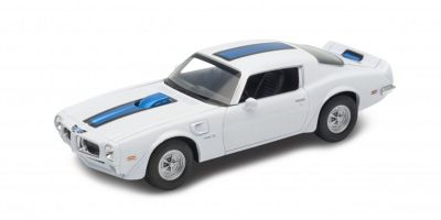 WELLY 1/24scale Pontiac Fire Bird Trans Am 1972 White  [No.WE24075W]