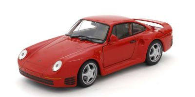 WELLY 1/24scale Porsche 959 Red  [No.WE24076R]