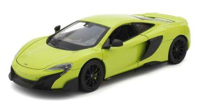 WELLY 1/24scale McLaren 675LT Light Green  [No.WE24089LG]