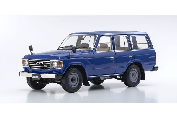 KYOSHO ORIGINAL 1/18scale Toyota Land Cruiser 60 (Feel Like Blue)  [No.KS08956BL]