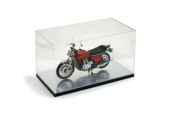MINICHAMPS 1/12scale 1/12 Display Case for Bike (D140mm x H145mm x W260mm) Mirror base type  [No.02080]