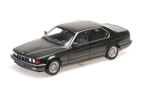 MINICHAMPS 1/18scale BMW 730I (E32) 1986 Green Metallic  [No.100023004]