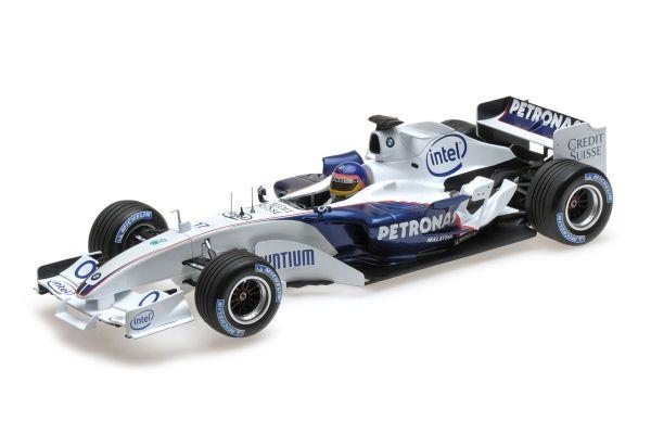 MINICHAMPS 1/18scale SAUBER BMW C24B – JACQUES VILLENEUVE – F1 TEST VALENCIA FEBRUARY 2006  [No.100060903]