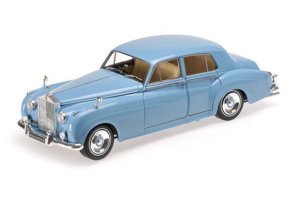 MINICHAMPS 1/18scale ROLLS ROYCE SILVER CLOUD II – 1960 – BLUE  [No.100134904]