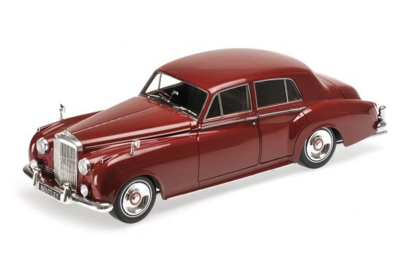 MINICHAMPS 1/18scale BENTLEY S2 – 1960 – RED  [No.100139955]