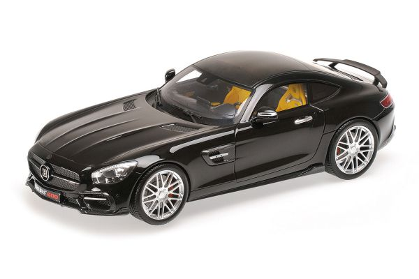MINICHAMPS 1/18scale BRABUS 600 AUF BASIS MERCEDES-BENZ AMG GT S – 2015 – BLACK [No.107032520]