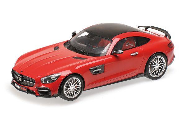 MINICHAMPS 1/18scale BRABUS 600 AUF BASIS MERCEDES-BENZ AMG GT S – 2016 – RED [No.107032521]