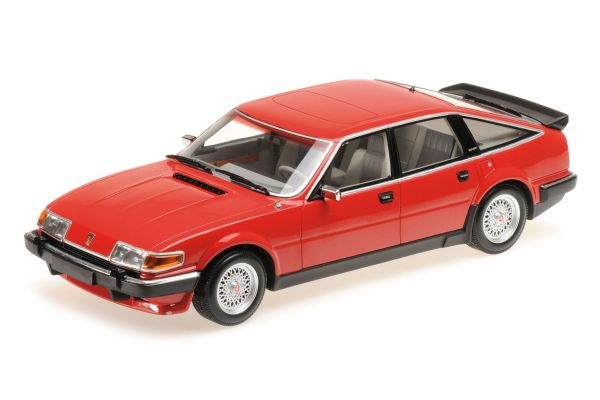 MINICHAMPS 1/18scale ROVER VITESSE 3.5 V8 – 1986 – RED  [No.107138401]