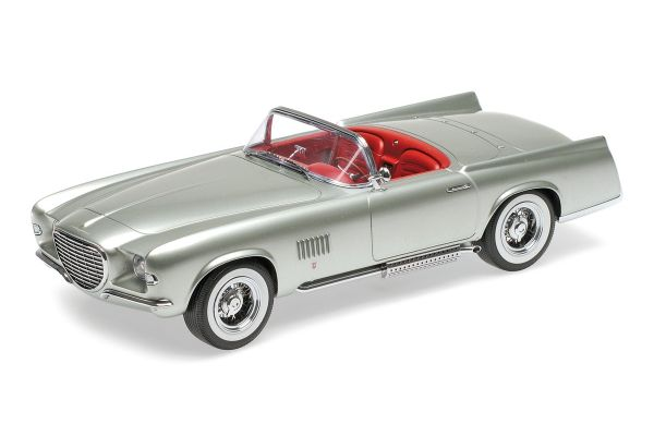 MINICHAMPS 1/18scale CHRYSLER GHIA FALCON – 1955 – LIGHT GREEN METALLIC  [No.107143030]