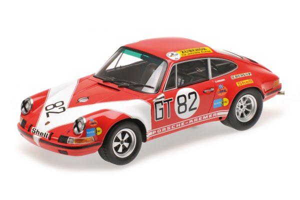 MINICHAMPS 1/18scale PORSCHE 911 S – KREMER RACING – KREMER/NEUHAUS – CLASS WINNERS ADAC 1000KM 1971  [No.107716882]