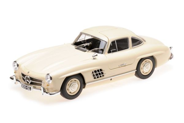 MINICHAMPS 1/18scale MERCEDES-BENZ 300 SL (W198) - 1955 - CREME  [No.110037212]