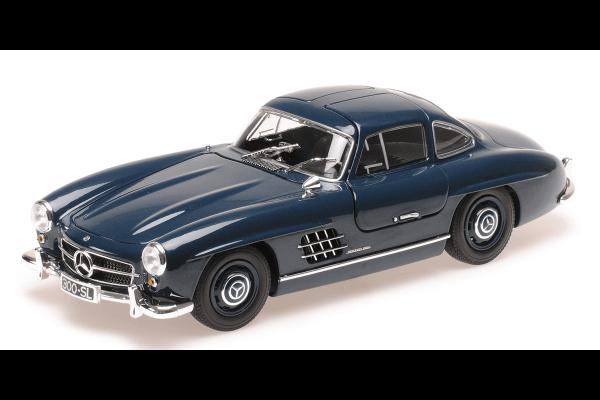 MINICHAMPS 1/18scale Mercedes Benz 300 SL 1955 Blue  [No.110037216]
