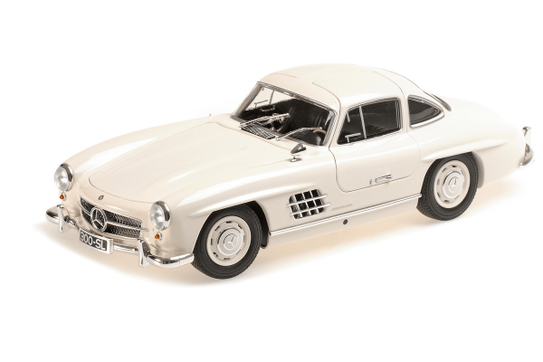 MINICHAMPS 1/18scale Mercedes Benz 300 SL 1955 White  [No.110037217]