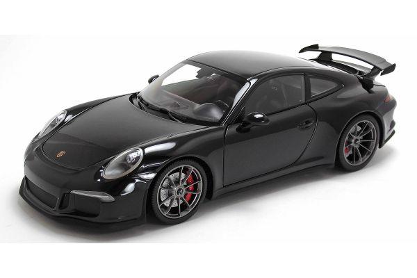 MINICHAMPS 1/18scale PORSCHE 911 GT3 (991) – 2013 – BLACK METALLIC [No.110062724]