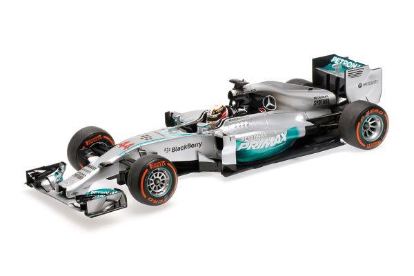 MINICHAMPS 1/18scale MERCEDES AMG PETRONAS F1 TEAM – F1 W05 – LEWIS HAMILTON – WINNER MALAYSIAN GP 2014  [No.110140144]