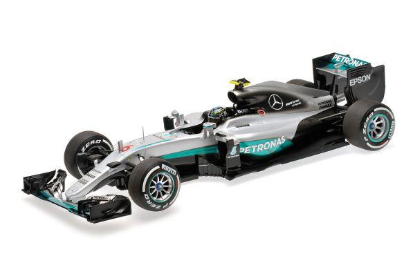 MINICHAMPS 1/18scale MERCEDES AMG PETRONAS F1 TEAM – F1 W07 HYBRID – NICO ROSBERG – 2016  [No.110160006]