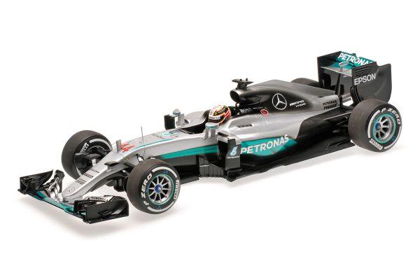MINICHAMPS 1/18scale MERCEDES AMG PETRONAS F1 TEAM – F1 W07 HYBRID – LEWIS HAMILTON – 2016  [No.110160044]