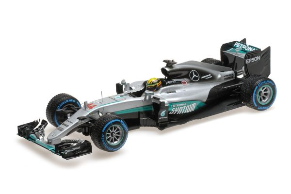 MINICHAMPS 1/18scale MERCEDES AMG PETRONAS FORMULA ONE TEAM F1 W07 HYBRID – LEWIS HAMILTON – WINNER BRAZILIAN GP 2016 [No.110160644]