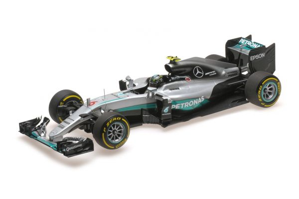 MINICHAMPS 1/18scale MERCEDES AMG PETRONAS FORMULA ONE TEAM F1 W07 HYBRID – ROSBERG – WORLD CHAMPION ABU DHABI GP 2016  [No.110160706]