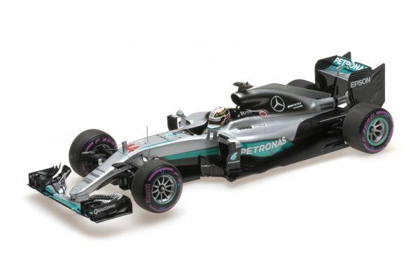 MINICHAMPS 1/18scale MERCEDES AMG PETRONAS FORMULA ONE TEAM F1 W07 HYBRID – LEWIS HAMILTON – WINNER ABU DHABI GP 2016  [No.110160744]