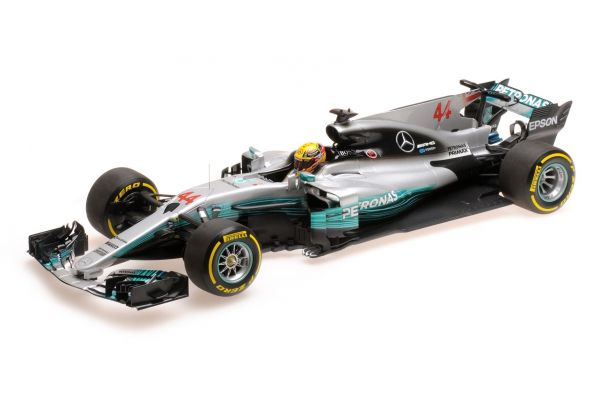 MINICHAMPS 1/18scale MERCEDES AMG PETRONAS FORMULA ONE TEAM F1 W08 EQ POWER+ – LEWIS HAMILTON – WINNER SPANISH GP 2017  [No.110170044]