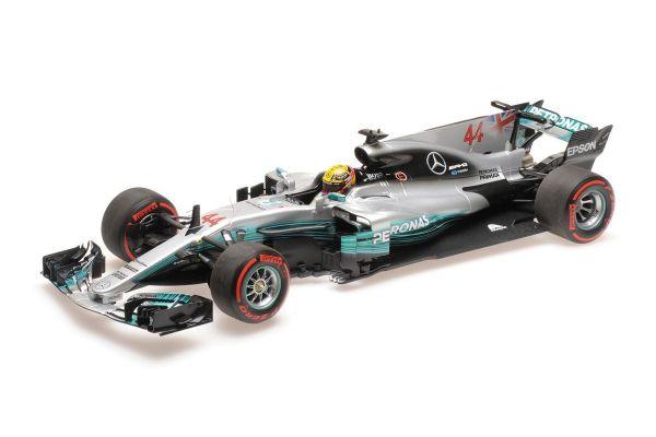 MINICHAMPS 1/18scale MERCEDES AMG PETRONAS FORMULA ONE TEAM F1 W08 EQ POWER+ – LEWIS HAMILTON – MEXICAN GP 2017 – WC  [No.110171844]